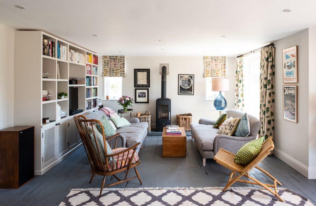 Hope Cove House lounge